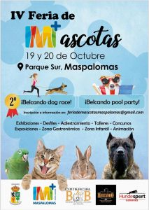 IV Pet Fair , Parque Sur Maspalomas